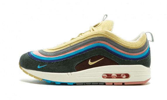 Nike Air Max 1/97 VF SW  Sean Wotherspoon LT BLUE FURY/LEMON WASH