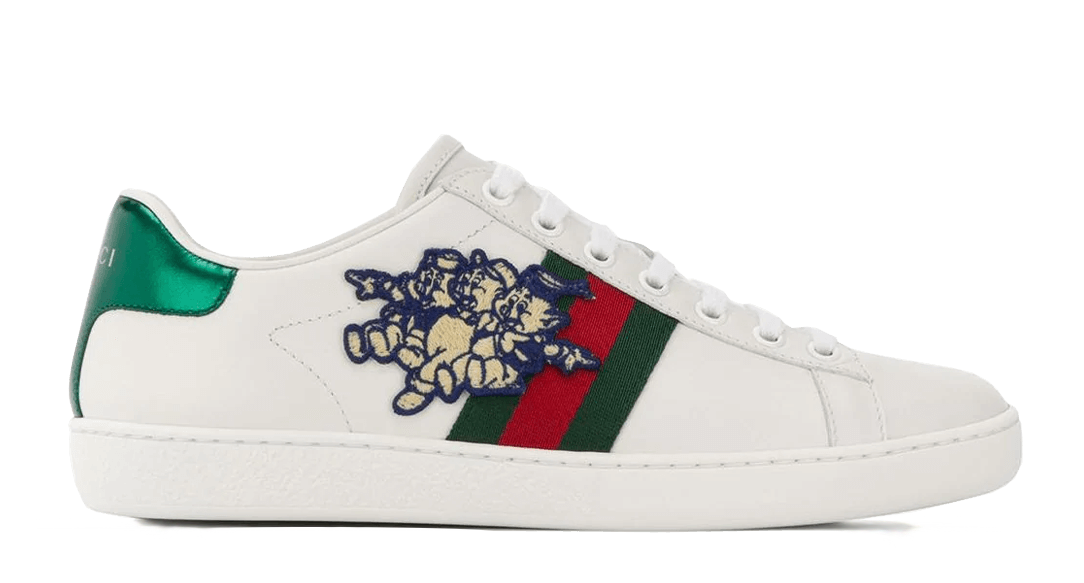 Gucci     Ace with Three Little Pigs the best workout inspiration