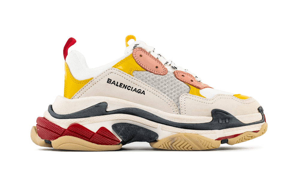 Balenciaga  Triple S Trainers  White/ Ecru/ Black the best workout inspiration