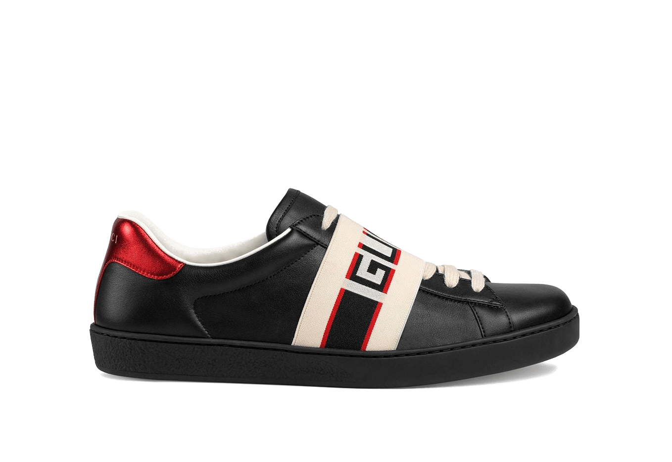 Gucci     Black Red Cream Logo Lther the best workout inspiration