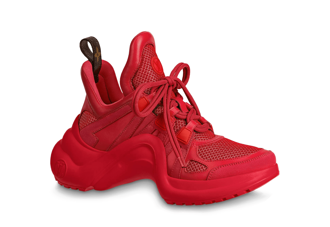 LOUIS VUITTON     Archlight Sneaker Red the best workout inspiration