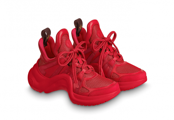 Louis Vutton Archlight Sneaker Red